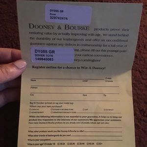 Dooney & Bourke Dover Tote